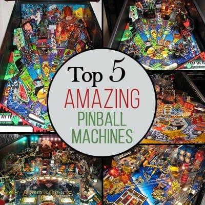 Top 5 Pinball Machines