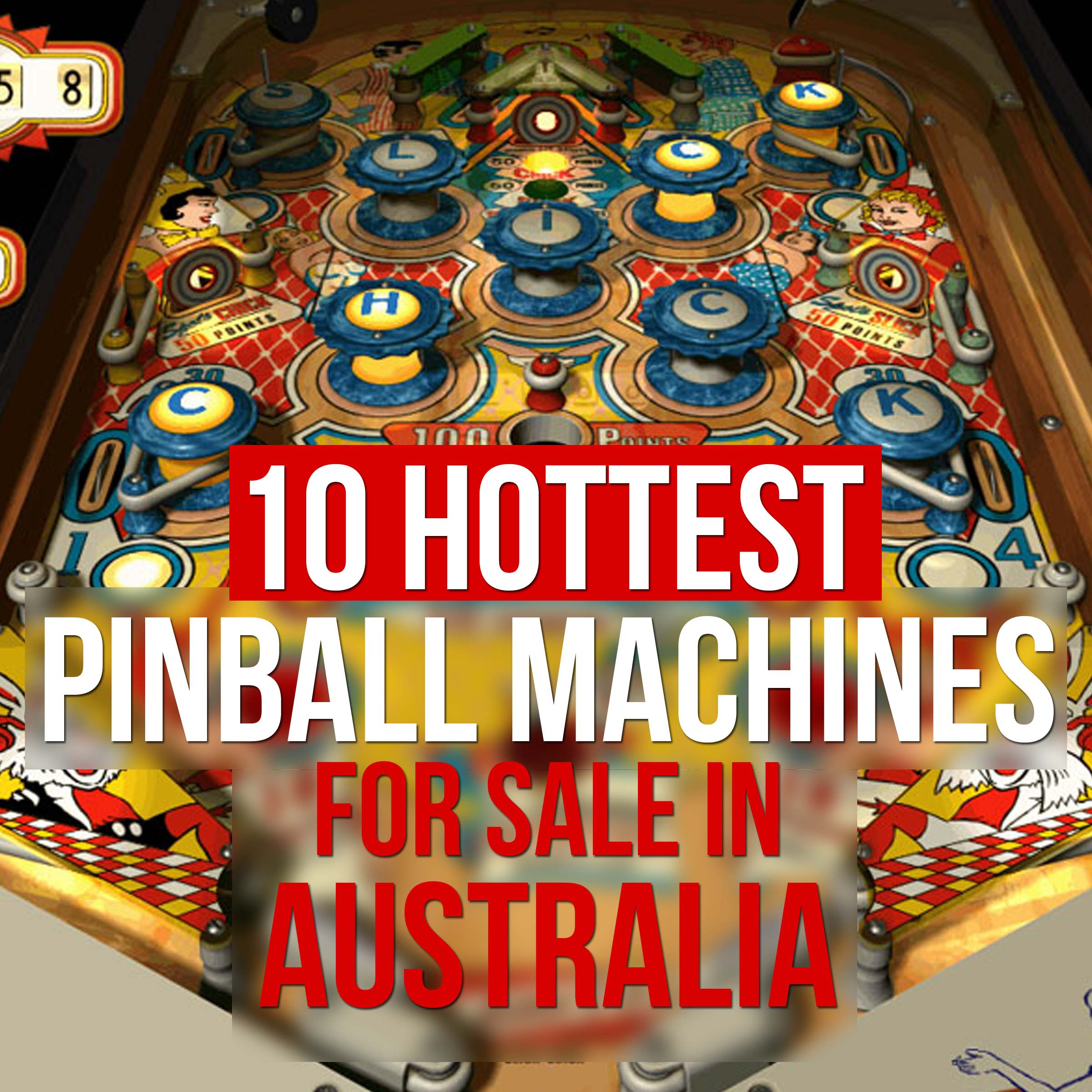 top 10 all time favorite pinball machines for sale in