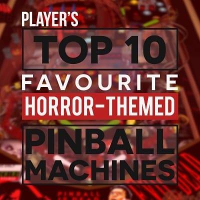 Horror-themed Pinball Machines