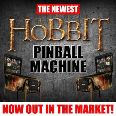 The Newest The Hobbit Pinball Machine now out in the Market!