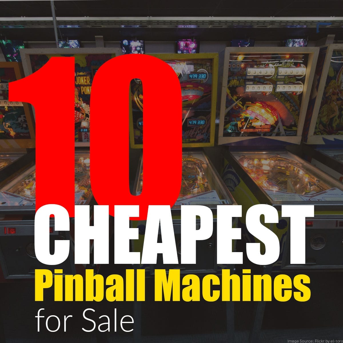 10 Cheapest Pinball Machines for Sale – Pinball Sales