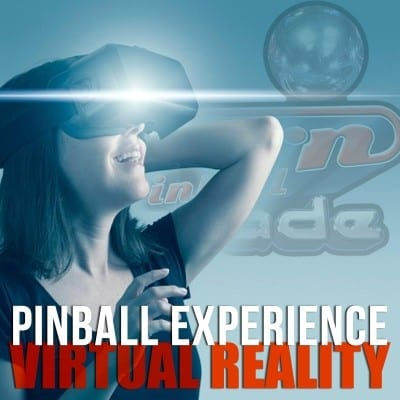Pinball Experience in Virtual Reality