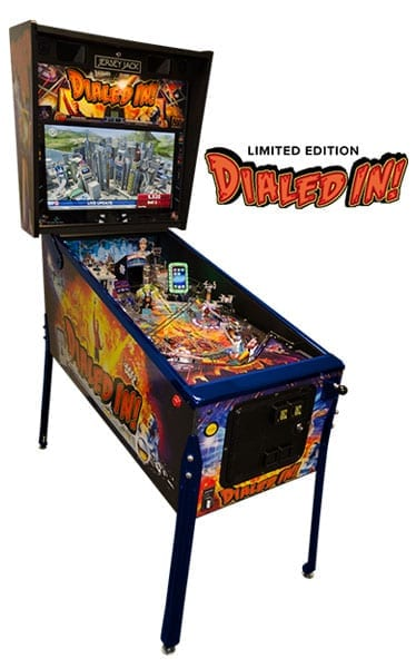 Dialed In Pinball Machine - Limited Edition