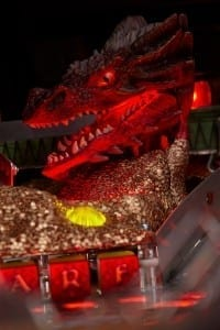 The Hobbit Pinball Machine Smaug