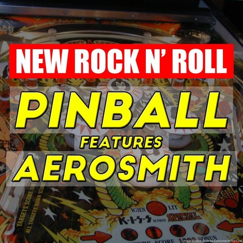 New Rock n' Roll Pinball features Aerosmith