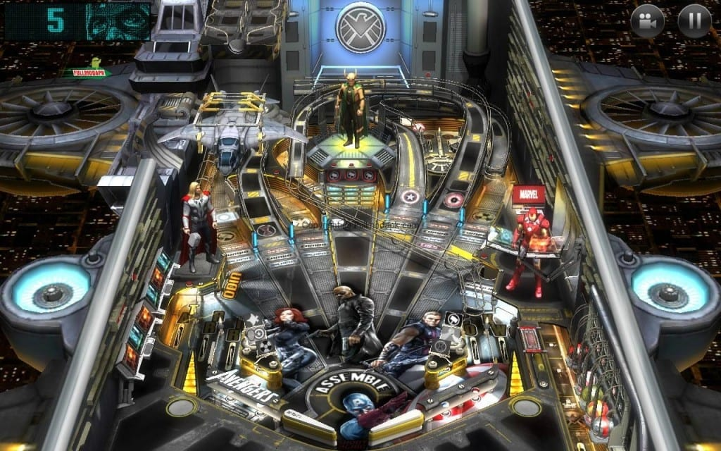 Marvel Pinball Game Apps