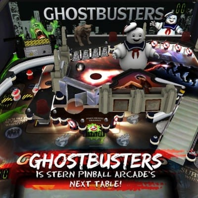 Ghostbusters is Stern Pinball Arcade's Next Table!
